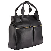 Buy Whistles Bleecker Backpack Handbag, Black Online at johnlewis.com