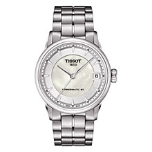 Buy Tissot T0862071111100 Women's Luxury Mother of Pearl Dial Watch, Silver Online at johnlewis.com