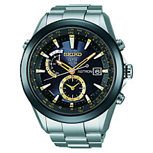 Buy Seiko Astron SAST0005G Men's Titanium GPS Solar Watch Online at johnlewis.com