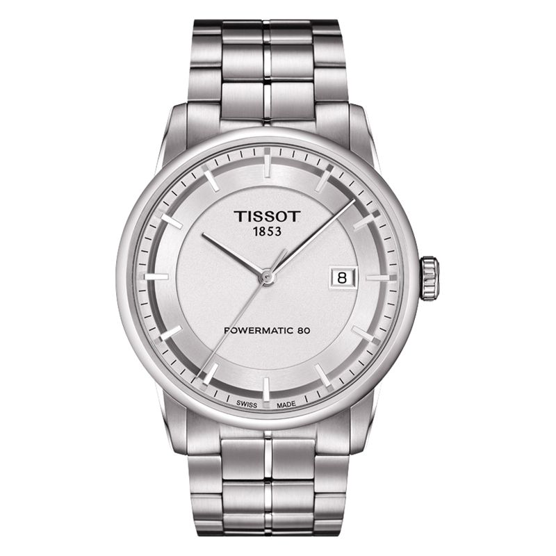 Tissot T0864071103100 Men's Luxury Automatic Watch, Silver