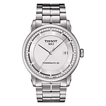 Buy Tissot T0864071103100 Men's Luxury Automatic Watch, Silver Online at johnlewis.com