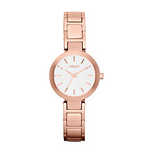 Buy DKNY NY8785 Women's Sasha Steel Bracelet Watch, Rose Gold Online at johnlewis.com