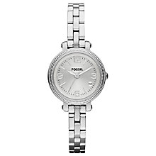 Buy Fossil ES3135 Women's Heather Steel Bracelet Strap Watch, Silver Online at johnlewis.com