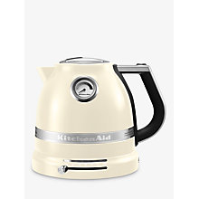 Buy KitchenAid Artisan Kettle and 2-Slice Toaster, Almond Cream Online at johnlewis.com