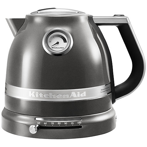 Buy KitchenAid Artisan Kettle, Medallion Silver Online at johnlewis.com