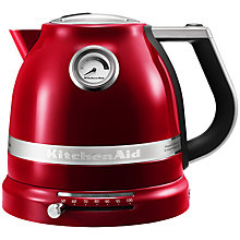 Buy KitchenAid Artisan Kettle and 2-Slice Toaster, Candy Apple Online at johnlewis.com