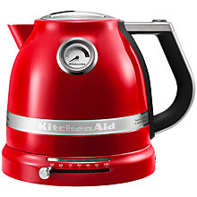 Buy KitchenAid Artisan Kettle and 4-Slice Toaster, Empire Red Online at johnlewis.com