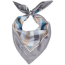 Buy Aquascutum Diagonal Checked Scarf Online at johnlewis.com