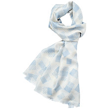 Buy Aquascutum Block Checked Scarf Online at johnlewis.com