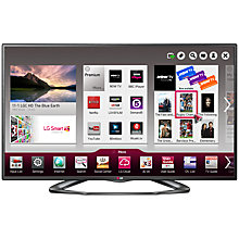 "Buy LG 55LA620V LED HD 1080p 3D Smart TV, 55"" with Freeview HD and 4x 3D Glasses Online at johnlewis.com"