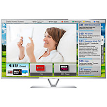 Buy Panasonic Viera TX-L55DT65B LED HD 1080p 3D Smart TV, 55 Inch with Freeview/Freesat HD & 4x 3D Glasses with Skype Camera Online at johnlewis.com