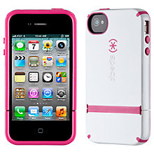 Buy Speck CandyShell for iPhone 4, White Online at johnlewis.com