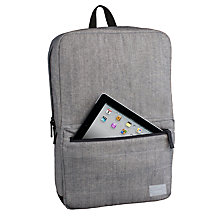 Buy Hex Academy Source Backpack for iPad, Grey Denim Online at johnlewis.com