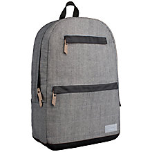 "Buy Hex Academy Backpack for 15"" MacBook Pro and iPad, Grey Denim Online at johnlewis.com"