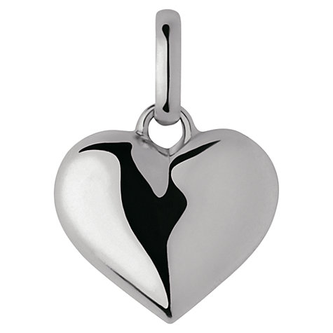 Buy Links of London Keepsakes Sterling Silver Birthday Heart Charm, Silver Online at johnlewis.com
