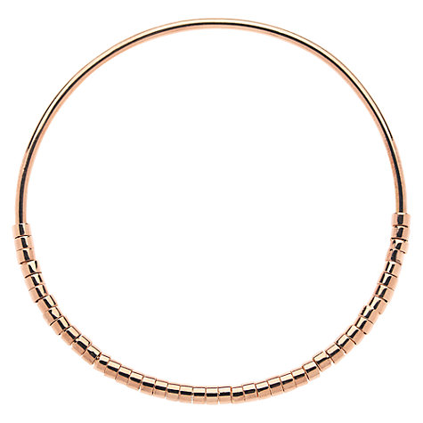 Buy Melissa Odabash Rose Gold Plated Tube Bangle Online at johnlewis.com