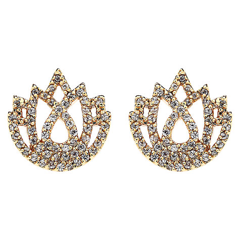 Buy Melissa Odabash Lotus Crystal Earrings Online at johnlewis.com