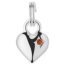 Buy Links of London Mini Heart Gem Set Charm Online at johnlewis.com