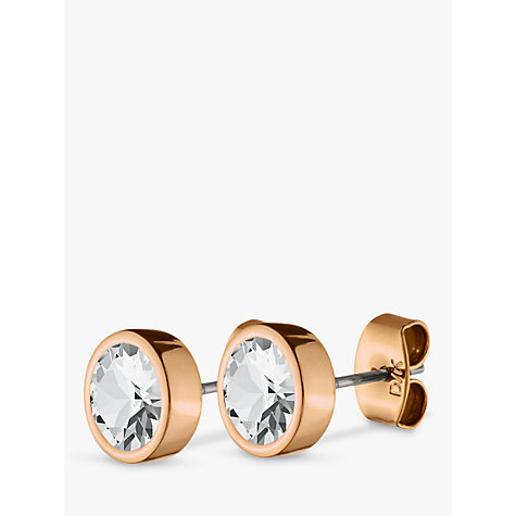 Buy Dyrberg/Kern Noble Medium Swarovski Crystal Stud Earrings Online at johnlewis.com