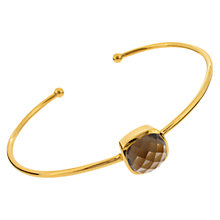 Buy Amrapali for Dinny Hall Jaipur Cushion Stone Bangle Online at johnlewis.com