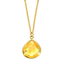 Buy Amrapali for Dinny Hall Jaipur Collection Briolette Pendant Online at johnlewis.com