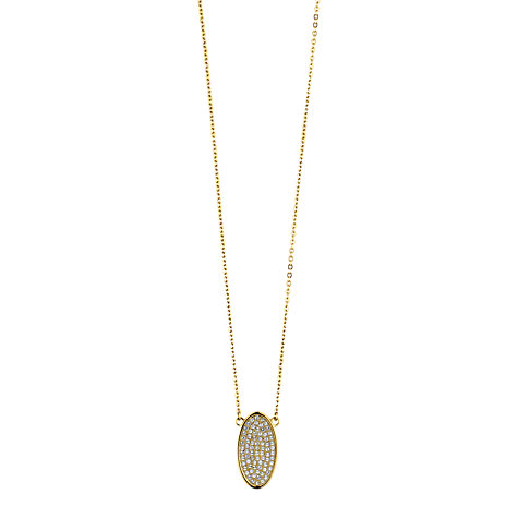 Buy Dyrberg/Kern Chenina 45 Swarovski Crystal Pendant Necklace Online at johnlewis.com