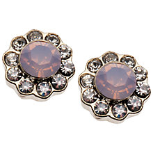 Buy Orelia Stone Flower Crystal Stud Earrings Online at johnlewis.com