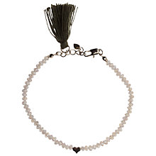 Buy Orelia Beaded Tassel Bracelet Online at johnlewis.com