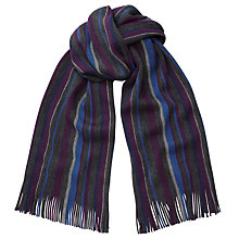 Buy John Lewis Rochelle Stripe Wool Scarf Online at johnlewis.com