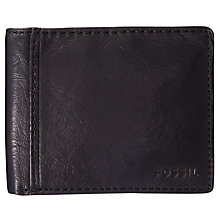 Buy Fossil Ingram Traveller Leather Wallet Online at johnlewis.com