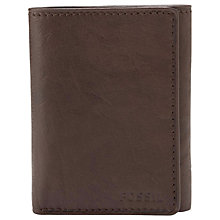 Buy Fossil Ingram Extra Capacity Leather Wallet Online at johnlewis.com
