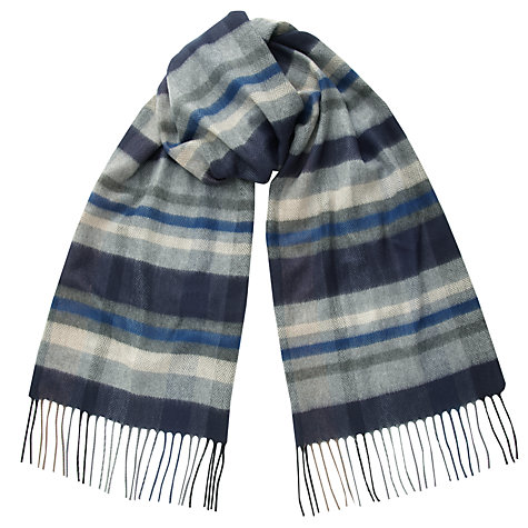 Buy John Lewis Cashmink Check Scarf Online at johnlewis.com