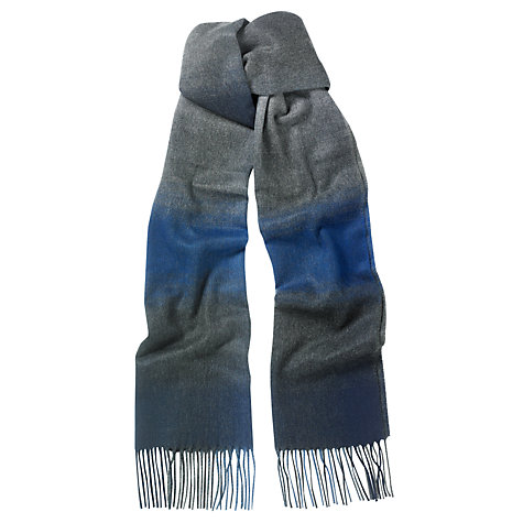 Buy John Lewis Cashmink Faded Stripe Scarf Online at johnlewis.com