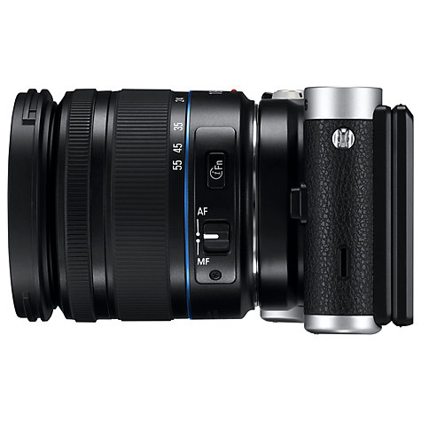 "Buy Samsung NX300 Compact System Camera with 18-55mm & 16mm Lens, HD 1080p, 20.3MP, Wi-Fi, NFC, Flash, 3.31"" Tilting Touch Screen Online at johnlewis.com"