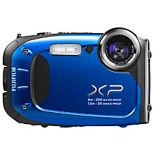 "Buy Fujifilm FinePix XP60 Digital Camera, HD 1080p, 16.4MP, 5x Optical Zoom, 2.7"" Screen Online at johnlewis.com"