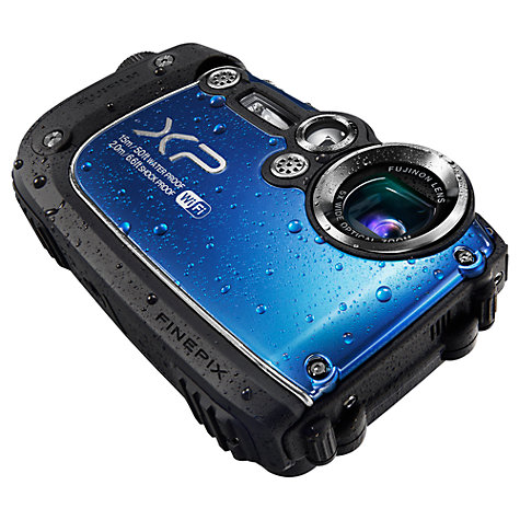 "Buy Fujifilm FinePix XP200 Waterproof Camera, HD 1080p, 16.4MP, 5x Optical Zoom, 3"" Screen Online at johnlewis.com"