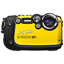 "Buy Fujifilm FinePix XP200 Waterproof Camera, HD 1080p, 16.4MP, 5x Optical Zoom, 3"" Screen with 16GB + 8GB Memory Card Online at johnlewis.com"