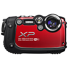 "Buy Fujifilm FinePix XP200 Digital Camera, HD 1080p, 16.4MP, 5x Optical Zoom, 3"" LCD Screen Online at johnlewis.com"