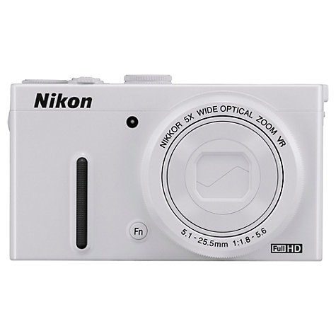 "Buy Nikon Coolpix P330 Digital Camera, HD 1080i, 12MP, 5x Optical Zoom, 3"" LCD Screen Online at johnlewis.com"