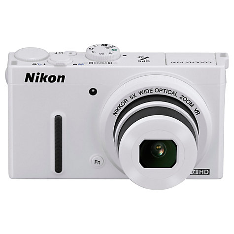 Buy Nikon Coolpix P330 Digital Camera, HD 1080i, 12MP, 5x Optical Zoom, 3 LCD Screen Online at johnlewis.com