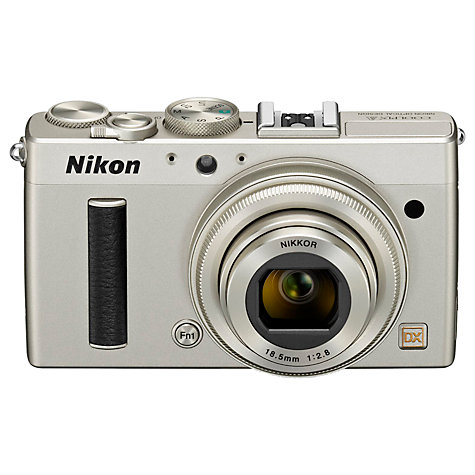 "Buy Nikon Coolpix A Digital Camera, HD 1080p, 16.2MP, 3"" LCD Screen Online at johnlewis.com"