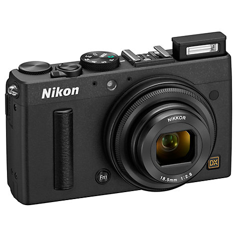 Buy Nikon Coolpix A Digital Camera, HD 1080p, 16.2MP, 3 LCD Screen Online at johnlewis.com