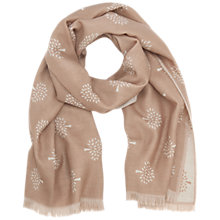Buy Mulberry Merino Wool Tree Scarf Online at johnlewis.com