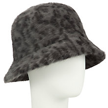 Buy John Lewis Angora Mix Cloche Hat, Animal Online at johnlewis.com
