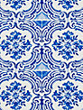 Christian Lacroix for Designers Guild Azulejos Wallpaper