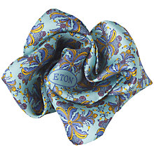 Buy Eton Kurb Print Pocket Square Online at johnlewis.com