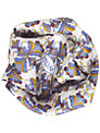 Eton Kurb Print Pocket Square