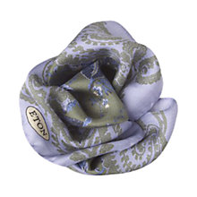 Buy Eton Floral Print Pocket Square Online at johnlewis.com