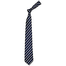 Buy Chester by Chester Barrie Twin Stripe Twill Tie Online at johnlewis.com