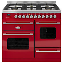 Buy Britannia RC-10XGG-DE Delphi Dual Fuel Range Cooker Online at johnlewis.com